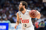 Real Madrid's player Sergio Rodriguez during the first match of the Semi Finals of Liga Endesa Playoff at Barclaycard Center in Madrid. June 02. 2016. (ALTERPHOTOS/Borja B.Hojas)