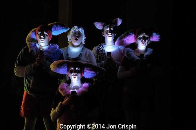 "New Century Theatre Kids production of ""Skippyjon Jones in the Cirque de Ole"""