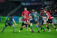 Shane Daly of Munster in action during the Heineken Champions Cup Round 1 match between the Ospreys and Munster at the Liberty Stadium in Swansea, Wales, UK. Saturday 16th November 2019