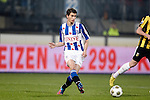 Nederland, Heerenveen, 22 december  2012.Eredivisie.Seizoen 2012/2013.Heerenveen-Vitesse 2-1.Filip Djuricic van SC Heerenveen in actie met de bal