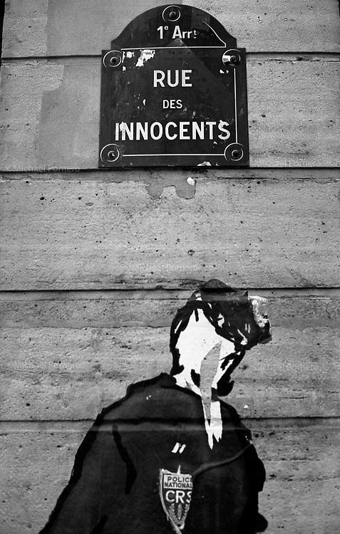 Paris (&icirc;le de france)<br /> <br /> Rue des innocents.<br /> <br /> Innocent street.