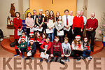 The Curraheen Choir supported with the local school children in St Brendan's Church, Curraheen on Sunday evening.