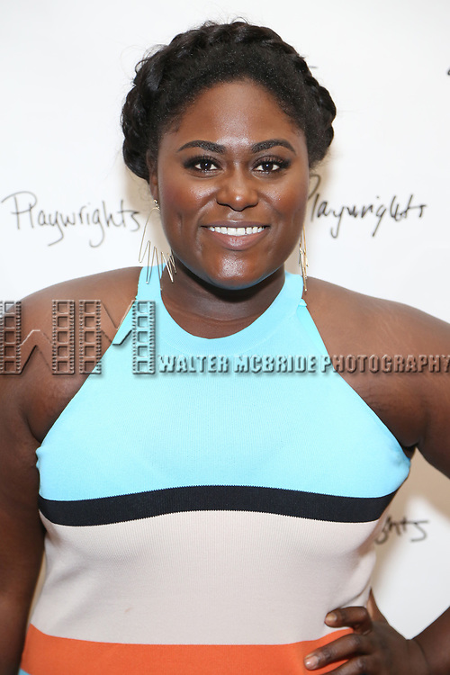 Danielle Brooks attends the Opening Night Performance of the Playwrights Horizons world premiere production of 'Log Cabin' on June 25, 2018 at Playwrights Horizons in New York City.