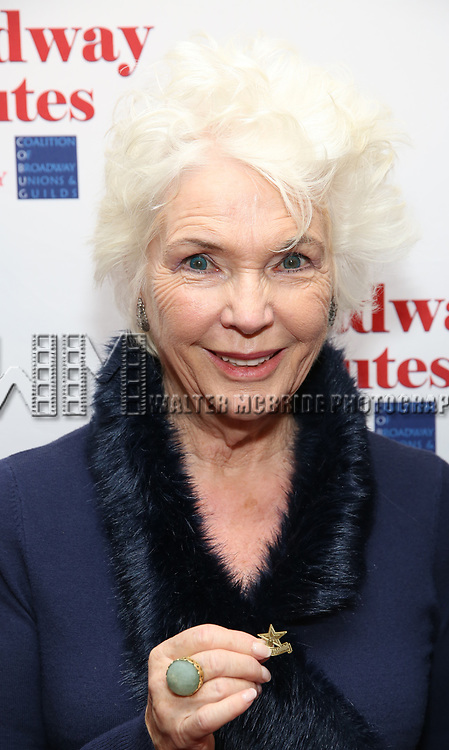 Fionnula Flanagan attends Broadway Salutes 10 Years - 2009-2018 at Sardi's on November 13, 2018 in New York City.
