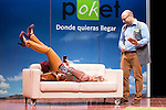 "Maria Pujero and Vicente Romero at ""Losers"" theater play in Madrid, November 03, 2015. <br /> (ALTERPHOTOS/BorjaB.Hojas)"