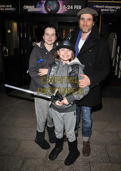 guests &amp; Ed Stoppard attend the Zippo's Cirque Berserk! press night, Peacock Theatre, Portugal Street, London, UK, on Tuesday 09 February 2016.<br /> CAP/CAN<br /> &copy;CAN/Capital Pictures