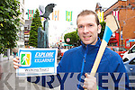 Conor Doolan who has started walking Tours around the historical monuments in Killarney
