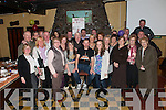40th Birthday Surprise: A surprise party was held in McCarthy's Bar in Finuge on Friday night last for popular Finuge man Pat Joe O'Sullivan (seated) pictured here with his family & friends.