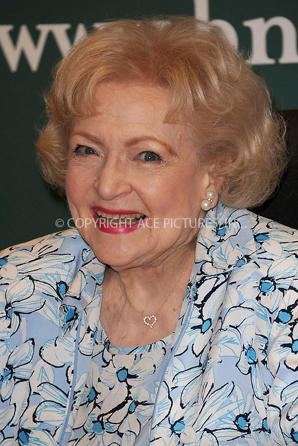 WWW.ACEPIXS.COM . . . . . .May 6, 2011...New York City...Betty White signs copies of 'If You Ask Me' at Barnes and Noble 5th avenue on May 6, 2011 in New York City....Please byline: KRISTIN CALLAHAN - ACEPIXS.COM.. . . . . . ..Ace Pictures, Inc: ..tel: (212) 243 8787 or (646) 769 0430..e-mail: info@acepixs.com..web: http://www.acepixs.com .