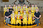 December 16, 2017- Tuscola, IL- The 2017-2018 Tuscola Warrior Basketball Freshman team. Back row from left are James Boyd, Nathan Koester, Donovan Chester, Aaron Warren, Michael Calderon, Amir Sykes, and Cole Cunningham. Middle row from left are manager Alex Vincent, Clayton Hausmann, Grant Hardwick, Tytus Rennert, and Creed Yets. Kneeling from left are coach Luke Johnson, Dustin Hale, Ben Tiezzi, Aiden Beachy, Rohan Patel, and coach Matt Kincaid. [Photo: Douglas Cottle]
