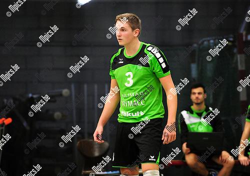 2014-11-29 / Volleybal / seizoen 2014-2015 / Mendo Booischot / Yannick Slaets<br /><br />Foto: mpics.be