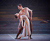 English National Ballet <br /> Triple Bill<br /> at Sadler's Wells, London, Great Britain <br /> rehearsal <br /> 7th September 2015 <br /> <br /> No Man's Land <br /> <br /> by Liam Scarlett <br /> <br /> Alina Cojocaru <br /> James Forbat <br /> <br /> <br /> <br /> <br /> Photograph by Elliott Franks <br /> Image licensed to Elliott Franks Photography Services
