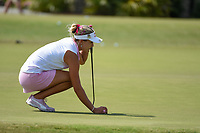 Lexi Thompson (USA) lines up her birdie attempt on 9 during round 3 of the 2019 US Women's Open, Charleston Country Club, Charleston, South Carolina,  USA. 6/1/2019.<br /> Picture: Golffile | Ken Murray<br /> <br /> All photo usage must carry mandatory copyright credit (© Golffile | Ken Murray)