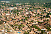 Maraba, Para State, Brazil. Aerial view of local houses.
