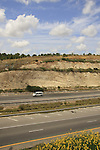 Israel, Sharon region. Highway 6, the Yitzhak Rabin Cross Israel Highway