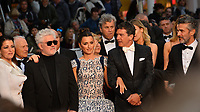 "CANNES, FRANCE. May 17, 2019: Nora Navas, Pedro Almodovar, Penelope Cruz, Antonio Banderas & Leonardo Sbaraglia at the gala premiere for ""Pain and Glory"" at the Festival de Cannes.<br /> Picture: Paul Smith / Featureflash"
