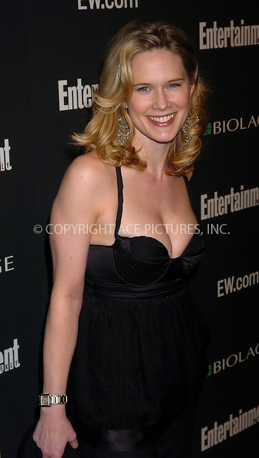 WWW.ACEPIXS.COM . . . . . ....NEW YORK, MARCH 5, 2006....Stephanie March at the Entertainment Weekly Academy Awards viewing party at Elaine's. ....Please byline: AJ Sokalner - ACEPIXS.COM.... *** ***..Ace Pictures, Inc:  ..Philip Vaughan (212) 243-8787 or (646) 769 0430..e-mail: info@acepixs.com..web: http://www.acepixs.com