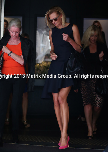 28 FEBRUARY 2014 SYDNEY AUSTRALIA<br /> <br /> NON EXCLUSIVE <br /> <br /> Celebrity mourners - family and friends pictured leaving Charlotte Dawson's Memorial Service <br /> <br /> *No internet without clearance*<br /> MUST CALL PRIOR TO USE .<br /> +61 2 9211-1088<br /> Matrix Media Group<br /> Note: All editorial images subject to the following: For editorial use only. Additional clearance required for commercial, wireless, internet or promotional use.Images may not be altered or modified. Matrix Media Group makes no representations or warranties regarding names, trademarks or logos appearing in the images.
