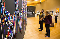 NWA Democrat-Gazette/BEN GOFF @NWABENGOFF<br /> The Springdale board of education and administrators take a tour Tuesday, April 9, 2019, at Crystal Bridges Museum of American Art in Bentonville.