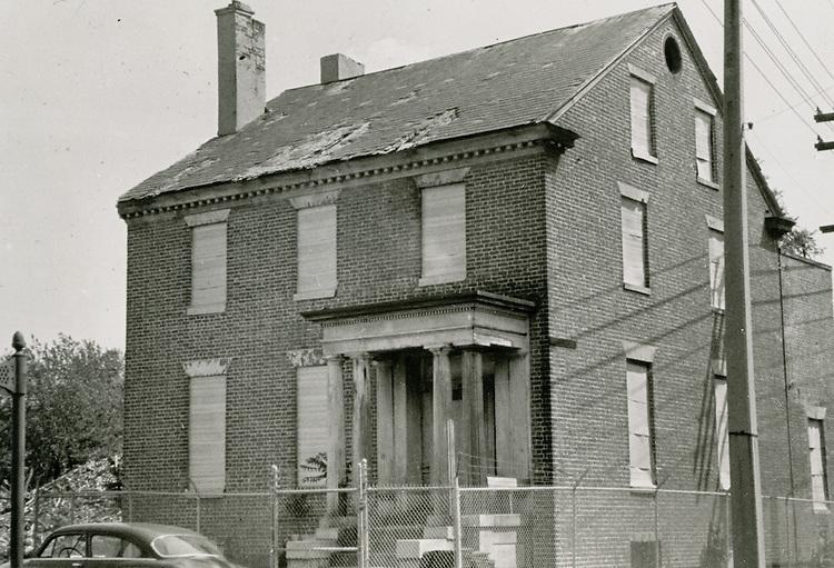 1963 July 30..Historical.Downtown North (R-8)...Hannon House c.1794..PHOTO CRAFTSMEN INC..NEG# 52-037.NRHA# 953-D..