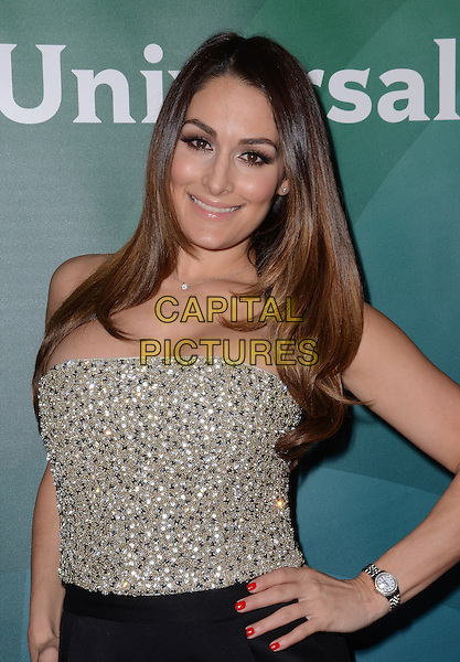 14 January  - Pasadena, Ca - Nikki Bella. NBC Universal Press Tour Day 2 held at The Langham Huntington Hotel.  <br /> CAP/ADM/BT<br /> &copy;BT/ADM/Capital Pictures