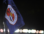 31st October 2017, Madejski Stadium, Reading, England; EFL Championship football, Reading versus Nottingham Forest; Reading FC corner flag pregame