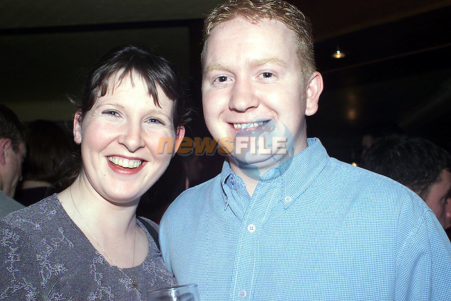 Denise and Graham Gillispie from Cherrybrook enjoying a night out in Muldoons..Picture Paul Mohan Newsfile