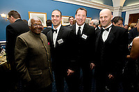 Desmond Tutu, Rob Kaler, Antonio Zea. The 2010 US Soccer Foundation Gala was held at City Center in Washington, DC.