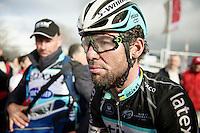 Mark Cavendish's (GBR/Ettix-QuickStep) post-race face<br /> <br /> 70th Dwars Door Vlaanderen 2015