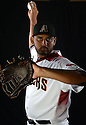 Arizona Diamondbacks Enrique Burgos (36) during photo day on February 28, 2016 in Scottsdale, AZ.