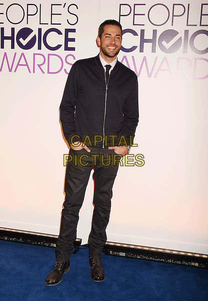 BEVERLY HILLS, CA - NOVEMBER 03: Actor Zachary Levi attends the People's Choice Awards 2016 - Nominations Press Conference at The Paley Center for Media on November 3, 2015 in Beverly Hills, California.<br /> CAP/ROT/TM<br /> &copy;TM/ROT/Capital Pictures