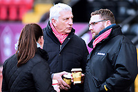 Lincoln City fans enjoy the pre-match atmosphere<br /> <br /> Photographer Andrew Vaughan/CameraSport<br /> <br /> The Emirates FA Cup Second Round - Lincoln City v Carlisle United - Saturday 1st December 2018 - Sincil Bank - Lincoln<br />  <br /> World Copyright © 2018 CameraSport. All rights reserved. 43 Linden Ave. Countesthorpe. Leicester. England. LE8 5PG - Tel: +44 (0) 116 277 4147 - admin@camerasport.com - www.camerasport.com