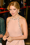 Léa Seydoux attends the James Bond 007 'Spectre' Paris Premiere at the Cinema Le Grand Rex in Paris, FRANCE, 28/10/2015