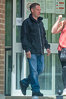 Pictured: Peter Fox leaves Merthyr Crown Court. Tuesday 21 May 2019<br /> Re: Peter Fox, who was accused of raping a teenager after a Beyonce concert in Cardiff has been cleared by Merthyr Crown Court, Wales, UK