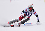 FRANCONIA, NH - MARCH 10: Endre Bjertness of Utah participates in the men's Slalom at the Division I Men's and Women's NCAA Skiing Championships held at Jackson Ski Touring on March 10, 2017 in Jackson, New Hampshire. (Photo by Gil Talbot/NCAA Photos via Getty Images)