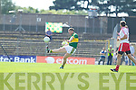 Kerry in Action against  Tyrone in Round Three of Qualifiers at Fitzgerald Stadium on Saturday 21st July 2012.