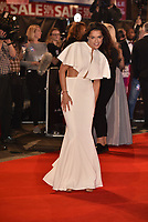 Michelle Rodriguez<br /> 'Widows' opening gala screening at BFI London Film Festival 2018<br /> in Leicester Square, London, England on October 10, 2018.<br /> CAP/PL<br /> &copy;Phil Loftus/Capital Pictures