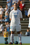 27 September 2009: North Carolina's Maria Lubrano. The University of North Carolina Tar Heels defeated the Wake Forest University Demon Deacons 4-0 at Fetzer Field in Chapel Hill, North Carolina in an NCAA Division I Women's college soccer game.
