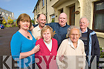 GET TOGETHER: Residents of Railway Terrace who are holding a 'get together' on September 12th at Stokers Lodge for former and current residents. From left Deirdre Hurley,  Michael Griffin, Maeve O'Brien, Maurice O'Brien, Peggy Greensmith and Mick Madden.