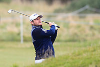 Tyrrell Hatton (ENG) on the 15th fairway during Round 4 of the Alfred Dunhill Links Championship 2019 at St. Andrews Golf CLub, Fife, Scotland. 29/09/2019.<br /> Picture Thos Caffrey / Golffile.ie<br /> <br /> All photo usage must carry mandatory copyright credit (© Golffile | Thos Caffrey)