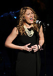 Kristine Reese performing in 'The Concert - A Celebration of Contemporary Musical Theatre' at The Second StageTheatre in New York City on 1/21/2013