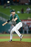 Greensboro Grasshoppers relief pitcher Kyle Fischer (29) in action against the Greenville Drive at NewBridge Bank Park on August 17, 2015 in Greensboro, North Carolina.  The Drive defeated the Grasshoppers 5-4 in 13 innings.  (Brian Westerholt/Four Seam Images)