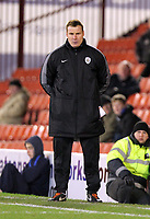 Pictured: Barnsley manager Keith Hill.Saturday 07 January 2012<br /> Re: FA Cup football Barnsley FC v Swansea City FC at the Oakwell Stadium, south Yorkshire.