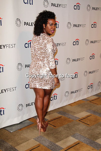 HOLLYWOOD, CA - March 14: Uzo Aduba at the 31st PALEYFEST Presents: &quot;Orange Is The New Black,&quot; Dolby Theater, Hollywood, March 14, 2014. Credit: Janice Ogata/MediaPunch<br /> Credit: MediaPunch/face to face<br /> - Germany, Austria, Switzerland, Eastern Europe, Australia, UK, USA, Taiwan, Singapore, China, Malaysia, Thailand, Sweden, Estonia, Latvia and Lithuania rights only -