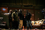 *** EXCLUSIVE COVERAGE ***<br />Carrie Fisher brings out her production crew during the Curtain Call for her final performance in WISHFUL DRINKING at Arena Stage<br />at the Lincoln  Theatre in Washington, D.C..<br />September 28, 2008