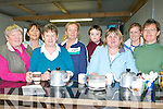 TEA/SOUP: handing outh the Tea and Soup to the hungry people at the Ballyduff Coursing on Saturday with the help of Jack O'Sullivan. Noreen and Judy Lynch, Peggy Slattery, Elma O'Sullivan, Teresa Meehan, Elaine Houlihan and Nodie O'Brien...   Copyright Kerry's Eye 2008
