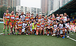 BGC Asia Pacific Barbarians vs Playmore's Shanghai Devils during Day 1 of the GFI HKFC Tens 2012 at the Hong Kong Football Club on March 21, 2012. Photo by Mike Pickles / The Power of Sport Images for HKFC