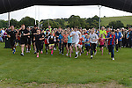 The start of Tiaran's 5K run at Hunterstown. Photo:Colin Bell/pressphotos.ie