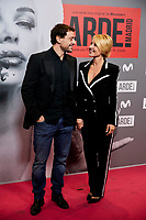 Cayetana Guillen Cuervo and Omar Ayyashi attends to ARDE Madrid premiere at Callao City Lights cinema in Madrid, Spain. November 07, 2018. (ALTERPHOTOS/A. Perez Meca) /NortePhoto.com