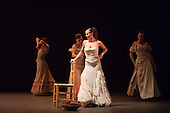 LONDON, ENGLAND: Carmen performed by Compañía Aída Gómez at Sadler's Wells Theatre as part of the Flamenco Festival